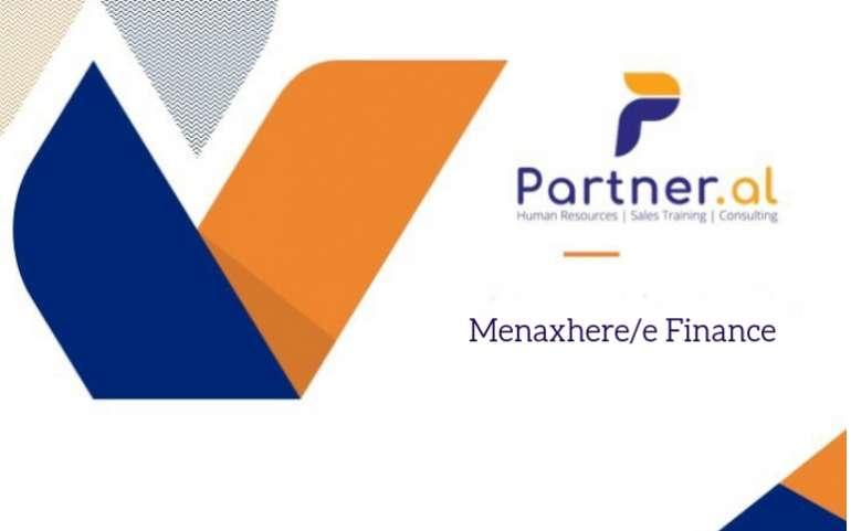 Menaxher/e Finance