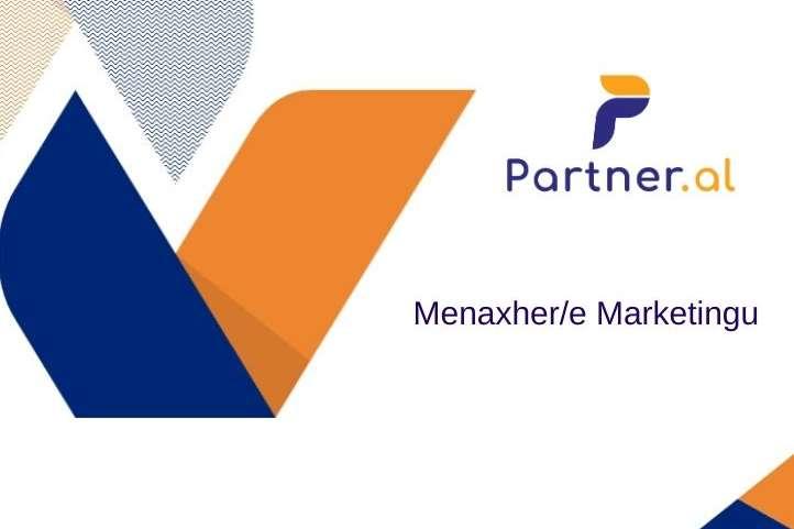 Menaxher/e Marketingu